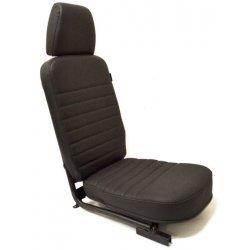 Compleet middenstoeltje met hoofdsteun t/m 2006 Zwart Leder