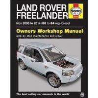 Haynes Werkplaats Handleiding Land Rover Freelander 2 diesel uitvoering (modeljaren 2006 tm 2014