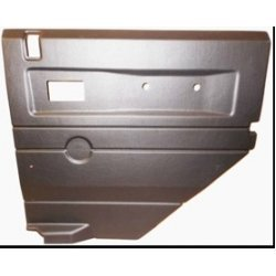 ABS deurbekleding achterportieren later type met draairamen grijze uitvoering rechts met electrische ramen