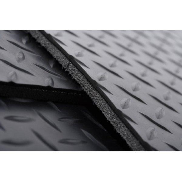 3-delige mattenset laadruimte lange uitvoering voor de LWB Hardtop achter de voorstoelen