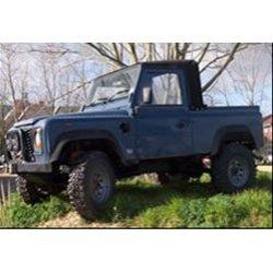 Defender 90″ en 110″ Truck Cab Soft Top t/m 300 Tdi (t/m 1998) zwart Stayfast