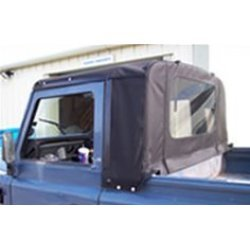 Defender 90″ en 110″ Truck Cab Soft Top Td5 en Td4 (v.a. 1999)zwart Stayfast
