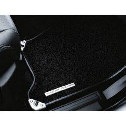 4-delige tapijtset zwart t/m 7A LHD