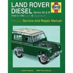 Haynes Werkplaatshandboek Series II, IIA en III diesel 1958-1985