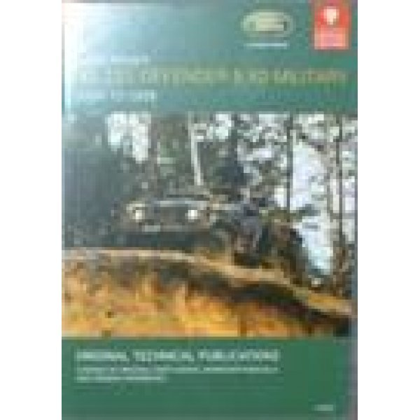 CD ROM Defender 90″, 110″ Military 1984-1999