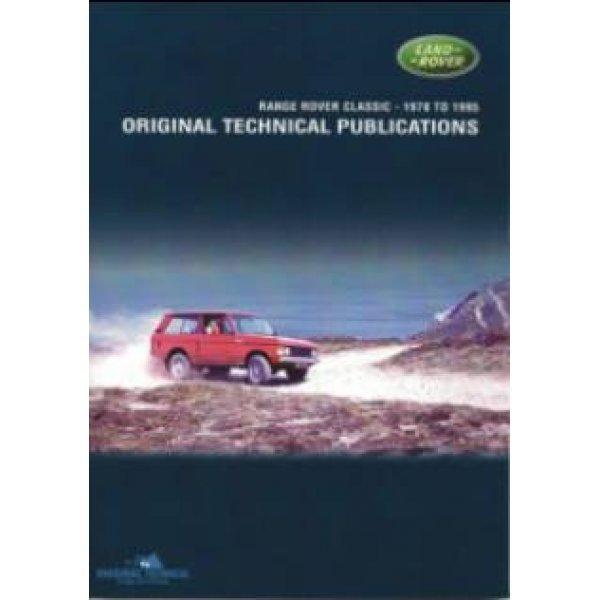 DVD Rangerover Classic 1970-1995