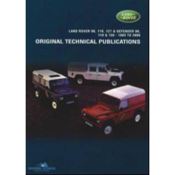 DVD Defender 90″, 110″ en 130″ 1983-2006