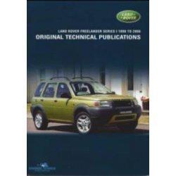 DVD Freelander 1 1998-2006