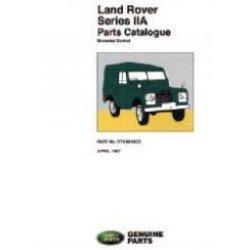 Onderdelenboek Series IIA 1961-1970