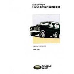 Onderdelenboek Series III 1971-1983