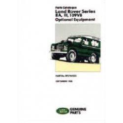 Onderdelenboek Optional equipment Series IIa en III 1961-1983