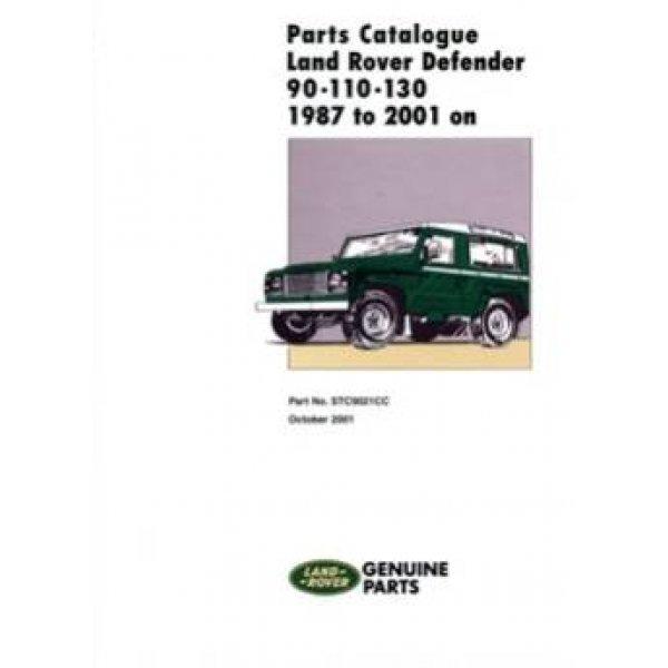 """Onderdelenboek Defender 90""""/110""""/130"""" 1987-2006 (incl. Td5)"""