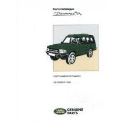 Onderdelenboek Discovery 1 1990-1998