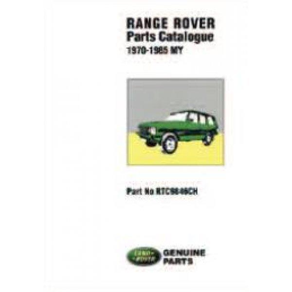 Onderdelenboek Range-Rover Classic 1970-1985