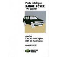Onderdelenboek Range-Rover P38 1994-e.v.2001