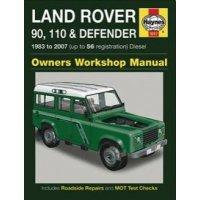 Haynes Werkplaats Handleiding Land Rover 90, 110 & 130 Defender met dieselmotor t/m modeljaar 2006