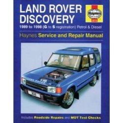 Haynes Werkplaats Handleiding – Land Rover Discovery 1 1989-1998, 200Tdi, 300Tdi diesels en V8 benzine