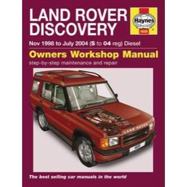 Haynes Werkplaats Handleiding – Land Rover Discovery 2 1998-2004, Td5 diesels uitvoeringen