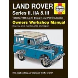 Haynes Werkplaatshandboek Series II, IIA en III benzine en diesel 1958-1985