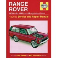 Haynes Werkplaats Handleiding � Range-Rover 1970 tot oktober 1992