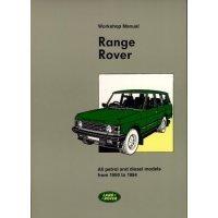 Werkplaatshandboek Range-Rover Classic
