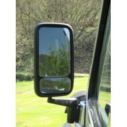 Hoge dodehoek-spiegel Links 16 x 26.5 cm