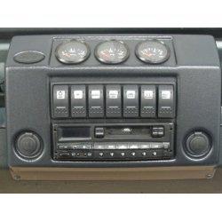 Centrale Radio-Console voor Defenders productiejaar 1983 tot 1998