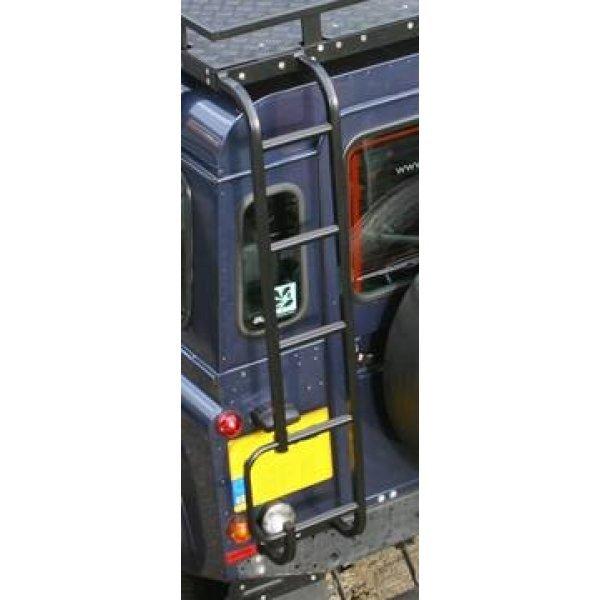 Ladder achterzijde chassis naar imperiaal (grijs-kenteken) zwart