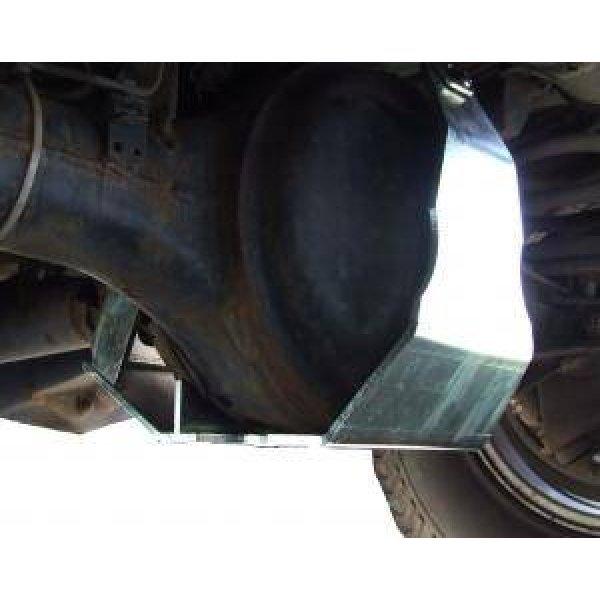 Diff-beschermer Rover achteras 110″ en 130″ v.a. 2002