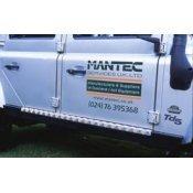 Traanplaatafwerking voor Mantec dorpelprotectie