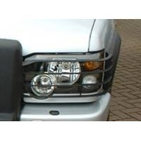 Kunststof koplampbeschermers Discovery 2, origineel van Land-Rover composiet