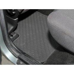 rubber matten sets Achtercompatiment (2 stuks)