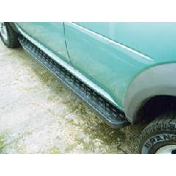 E-style side-steps Freelander met rubber top