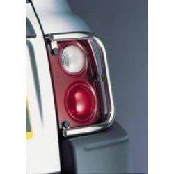 Achterlicht-beschermers RVS op carrosserie