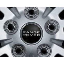 naafdop zwart met zilver Rangerover logo