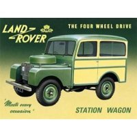 Land-Rover Series I 80″ Station Wagon