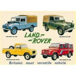 Collectie Land-Rovers