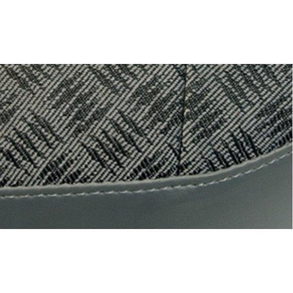 """2-zits klapbank (88″ 90"""" 109″ 110"""" Stawag) Techno Tweed met zwart frame"""