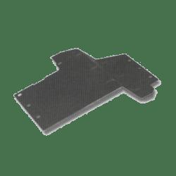 Modderplaten in voorscherm tegen schutbord voor Series III Links/RHD