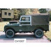Series I 86″ en 88″ Softtops 1953-1958