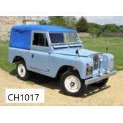 Series II, IIA en III 88″ Softtops 1958-1983
