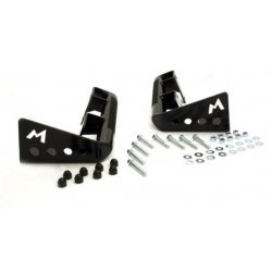 H/D REAR BUMPER CORNERS - DEF 110 WITH SPARE WHEEL CARRIER
