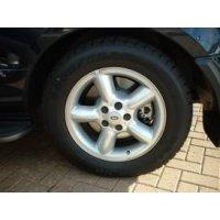 , Wielen, Vis Land Rover