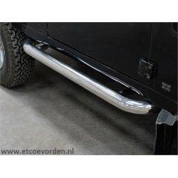Side bars Defender 90 RVS