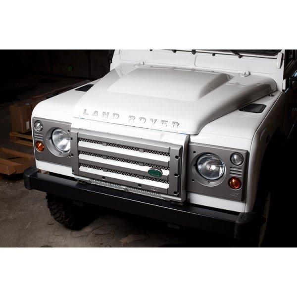 Motorkap v.a. 7A000001 (Td4), niet geschikt voor reservewiel, origineel Landrover