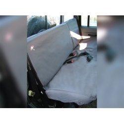 Waterbestendige stoelhoezen Achterkant Grijs 2e rij  Defender 110 SW tot 2007