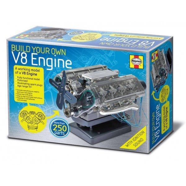 BOUWPAKKET V8 MOTOR