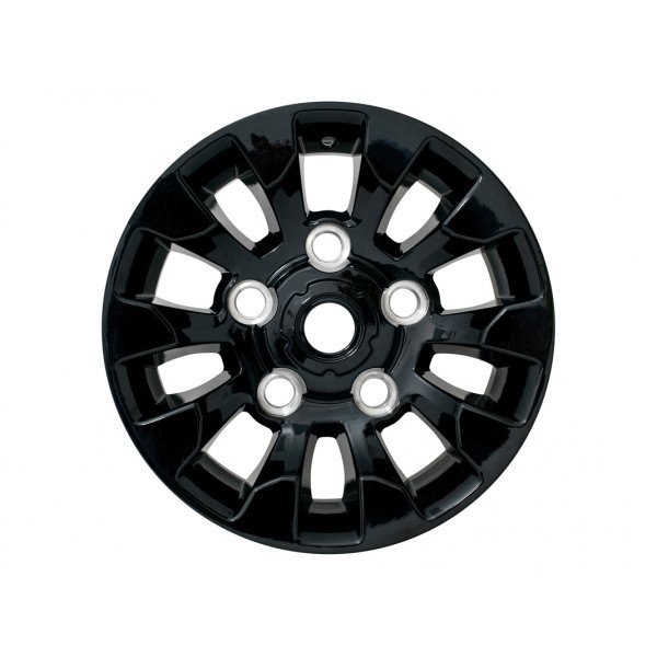 7x16 Sawtooth Style Gloss Black
