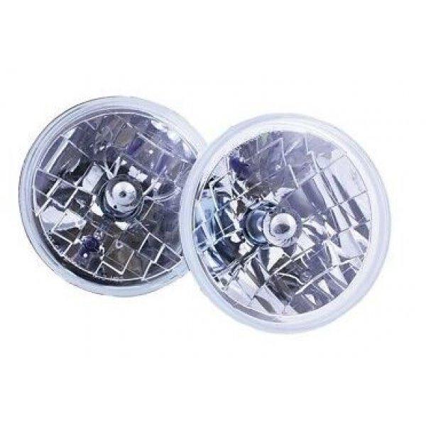 7 inch heldere koplampen LHD Set van 2
