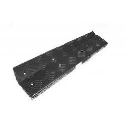 Rear Corner Chequer Plate Kit Black - CNKIT02-110/B